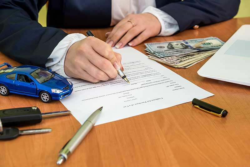 faqs about filing a car after bankruptcy