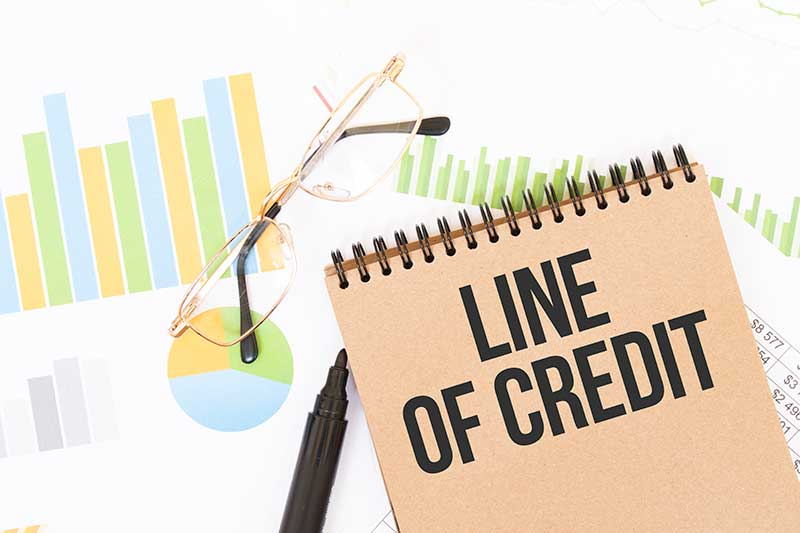 lines of credit with your spouse